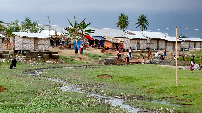 Rohingya, Myanmar, Bangladesch; Flüchtlinge, Flüchtlingskamp, Flüchtlingslager