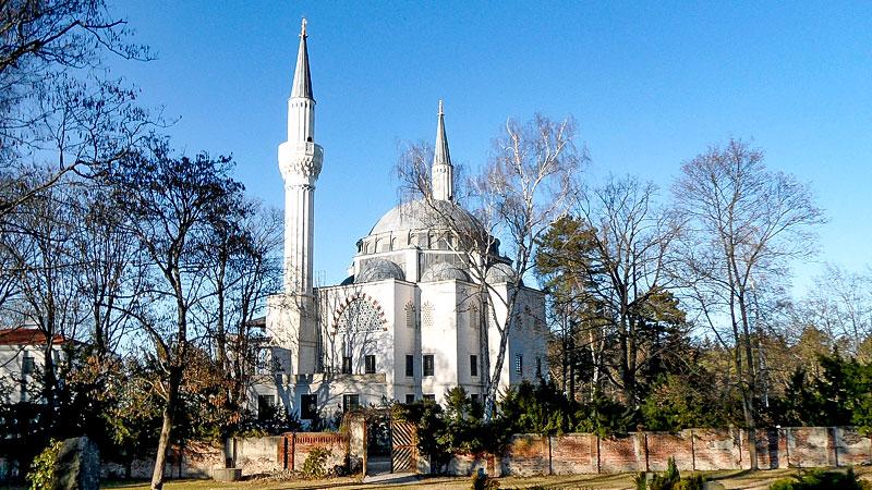 Moschee, Berlin, Sehitlik, Minarette, Kuppel, Religion, Muslime