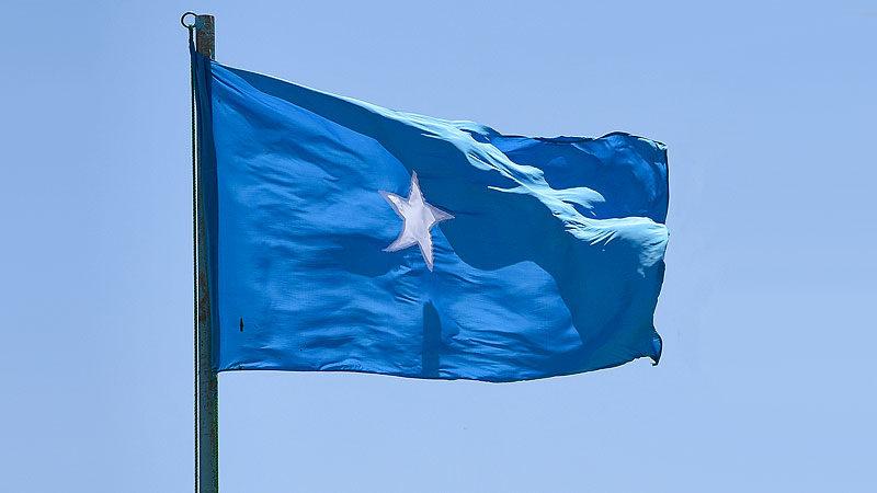 Flagge, Fahne, Somalia, Land, Staat