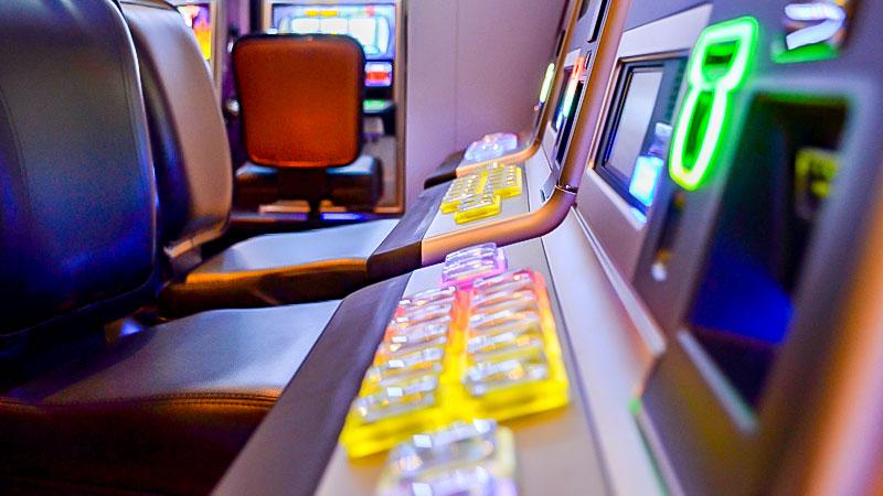 Spielhalle, Spielcasino, Spielautomat, Spielsucht