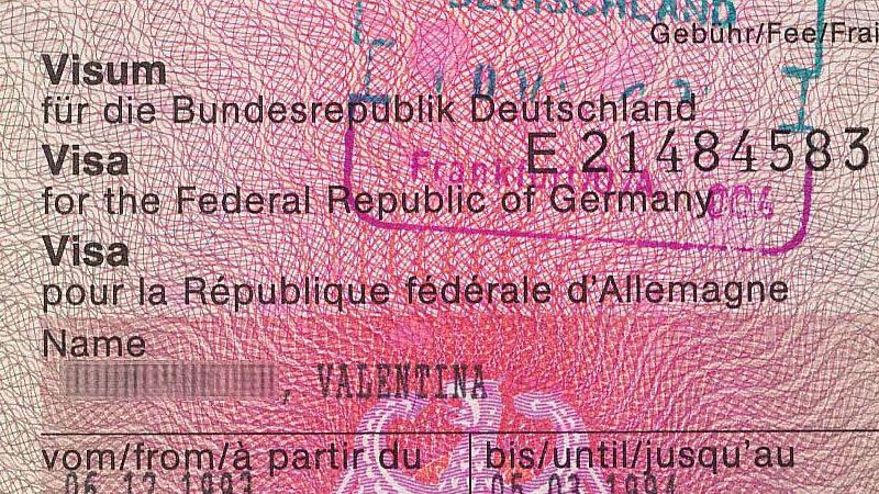 Visum, Visa, Deutschland, Einwanderung, Migration