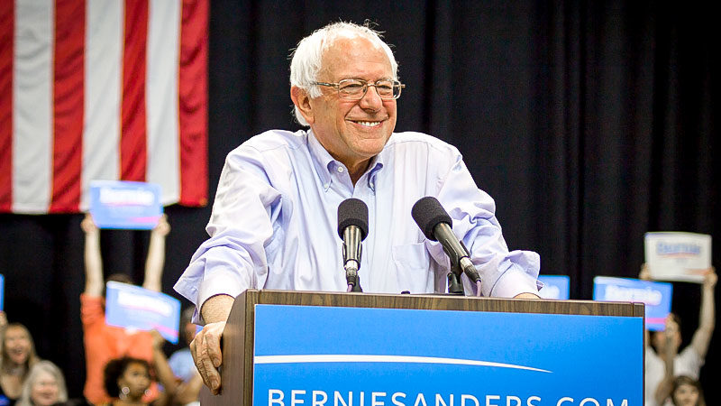 Bernie Sanders, USA, Wahlen, Rede, Politik, Jude