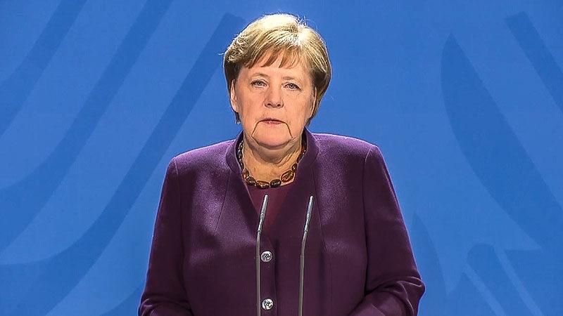 Bundeskanzlerin, Angela Merkel, Pressekonferenz, Rede