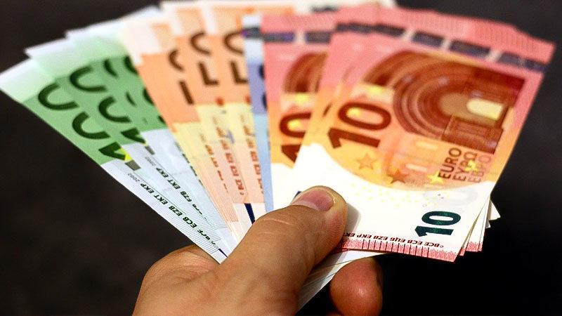 Geld, Euro, Reichtum, Geldscheine, Vermögen, Hand