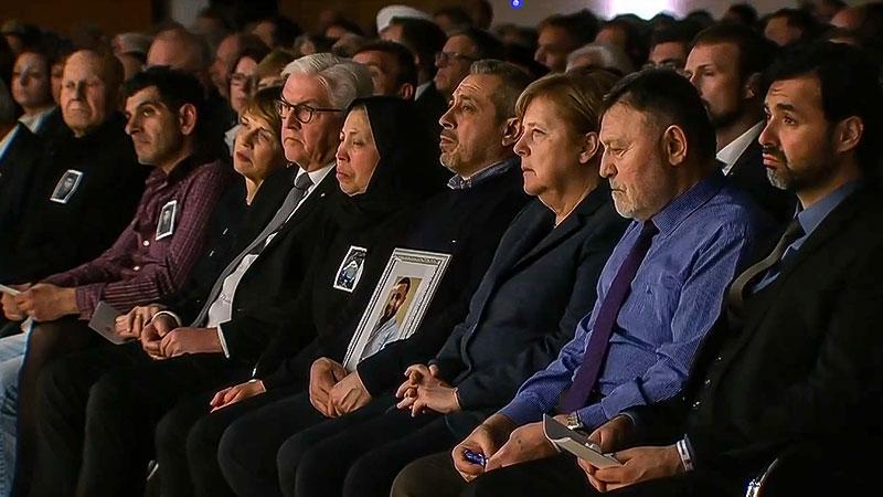 Trauerfeier, Hanau, Angela Merkel, Frank-Walter Steinmeier, Rechtsextremismus, Rechtsterrorismus
