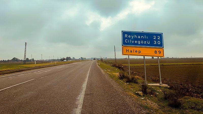 Halep, Hatay, Reyhanli, Cilvegöz, Straße, Weg, Syrien, Türkei