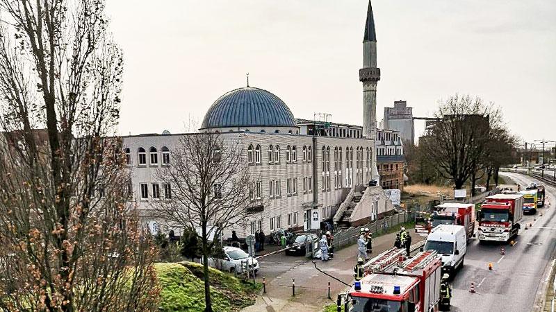Moschee, Bremen, Muslime, Islam, Feuerwehr, Islamfeindlichkeit