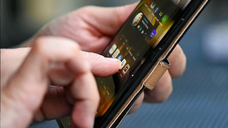 Handy, Telefon, Telekommunikation, Hand, Mann