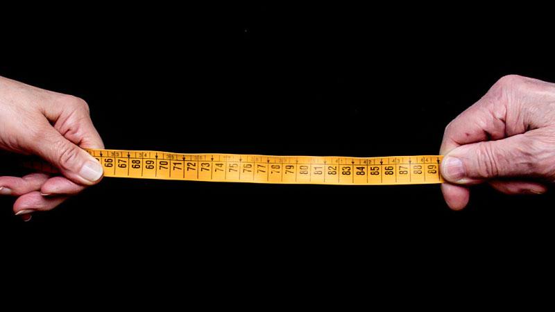 Abstand, Meter, Metermaß, Hände, Distanz, Messen, Corona