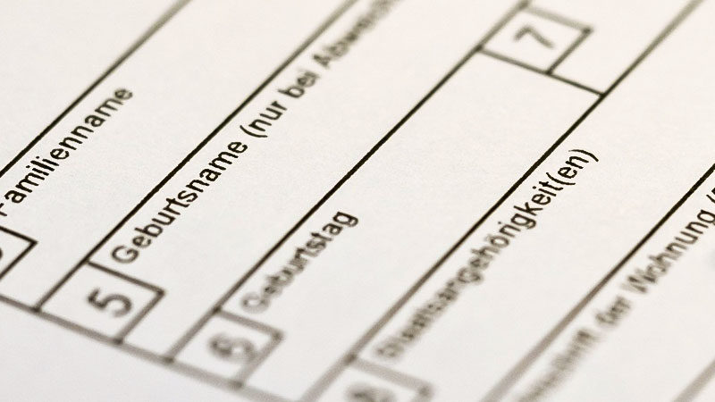 Antrag, Formular, Behörde, Amt, Asyl, Bürgeramt