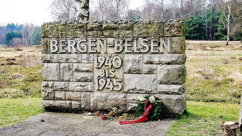Gedenkstätte, Bergen-Belsen, Konzentrationslager, NS, KZ, Nationalsozialismus