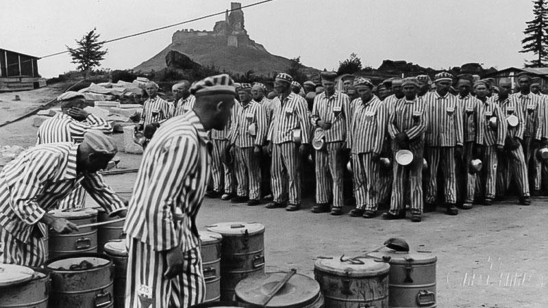 Konzentrationslager, Flossenbürg, Häftlinge, Steinbruch, Nazis, Nationalsozialismus