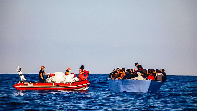 Seenotretter, Mittelmeer, Boot, Flüchtlinge, Sea Eye, Alan Kurdi