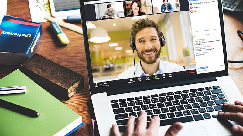 Internet, Konferenz, Meeting, Chat, Webinar, Zoom