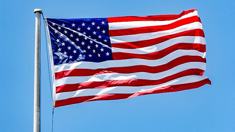USA, Fahne, Flagge, Vereinte Staaten von Amerika, Fahnenmast