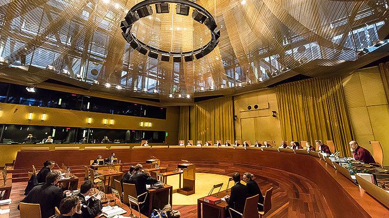 Europäischer Gerichtshof, EuGH, Justiz, Europa, Menschenrechte, Verhandlung, Prozess