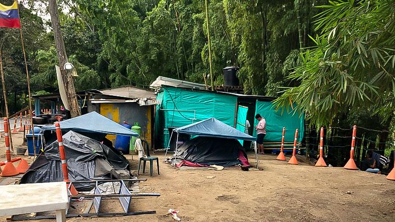 Venezuela, Flüchtlingslager, Flüchtlinge, Camp, Zelte