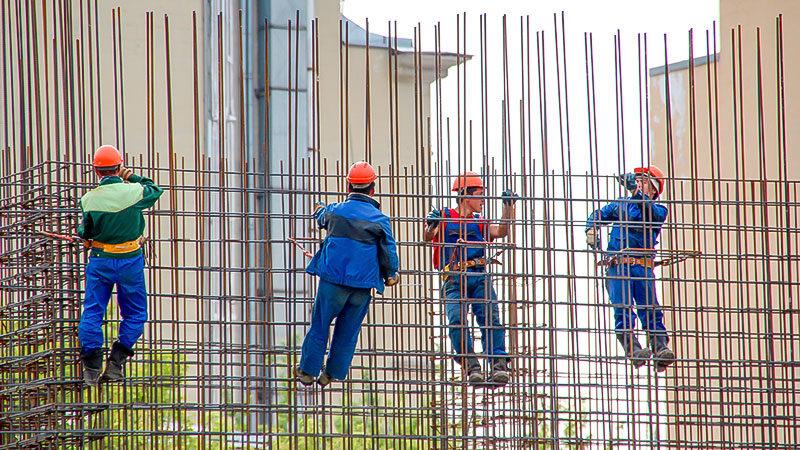 Bauarbeiter, Baustelle, Arbeitnehmer, Arbeiter, Fachkräfte