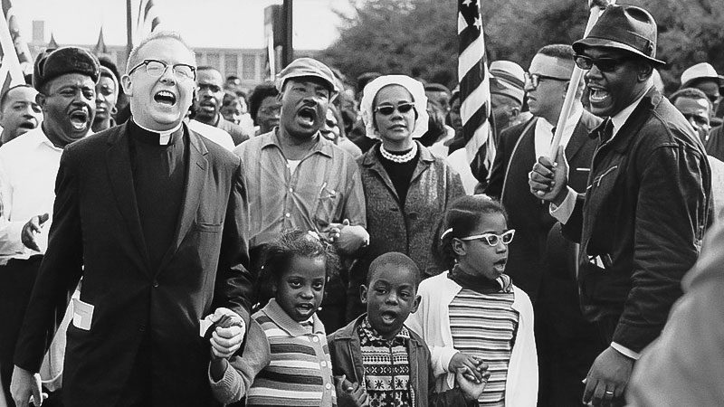 Martin Luther King, Demonstration, USA, Rassismus