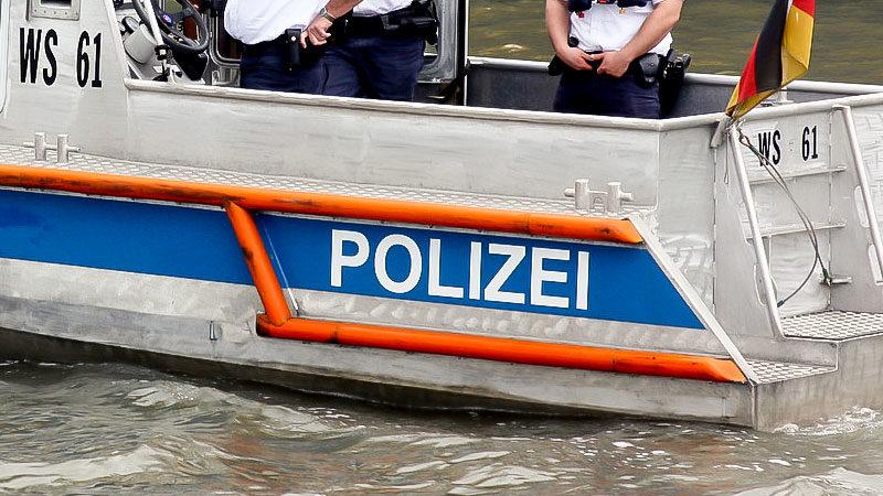 Polizei, Wasser, Wasserpolizei, Boot, Fluss