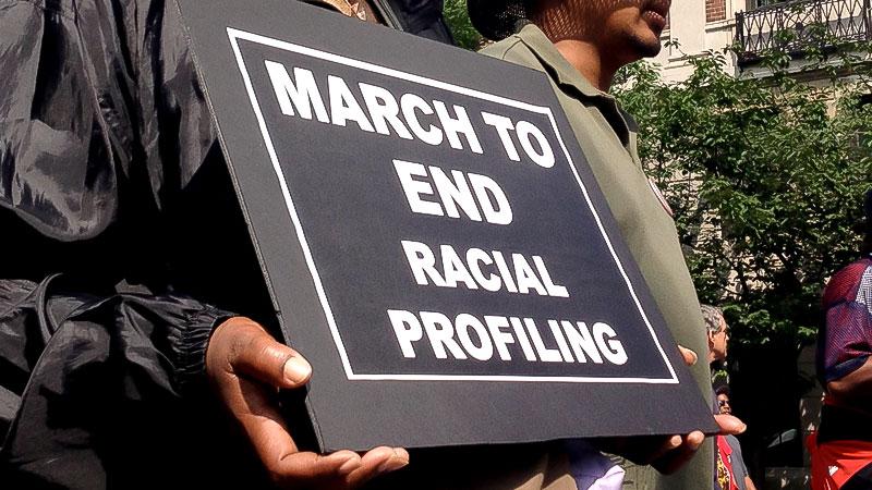 Racial Profiling, Rassismus, Demonstration, Polizei, Diskriminierung