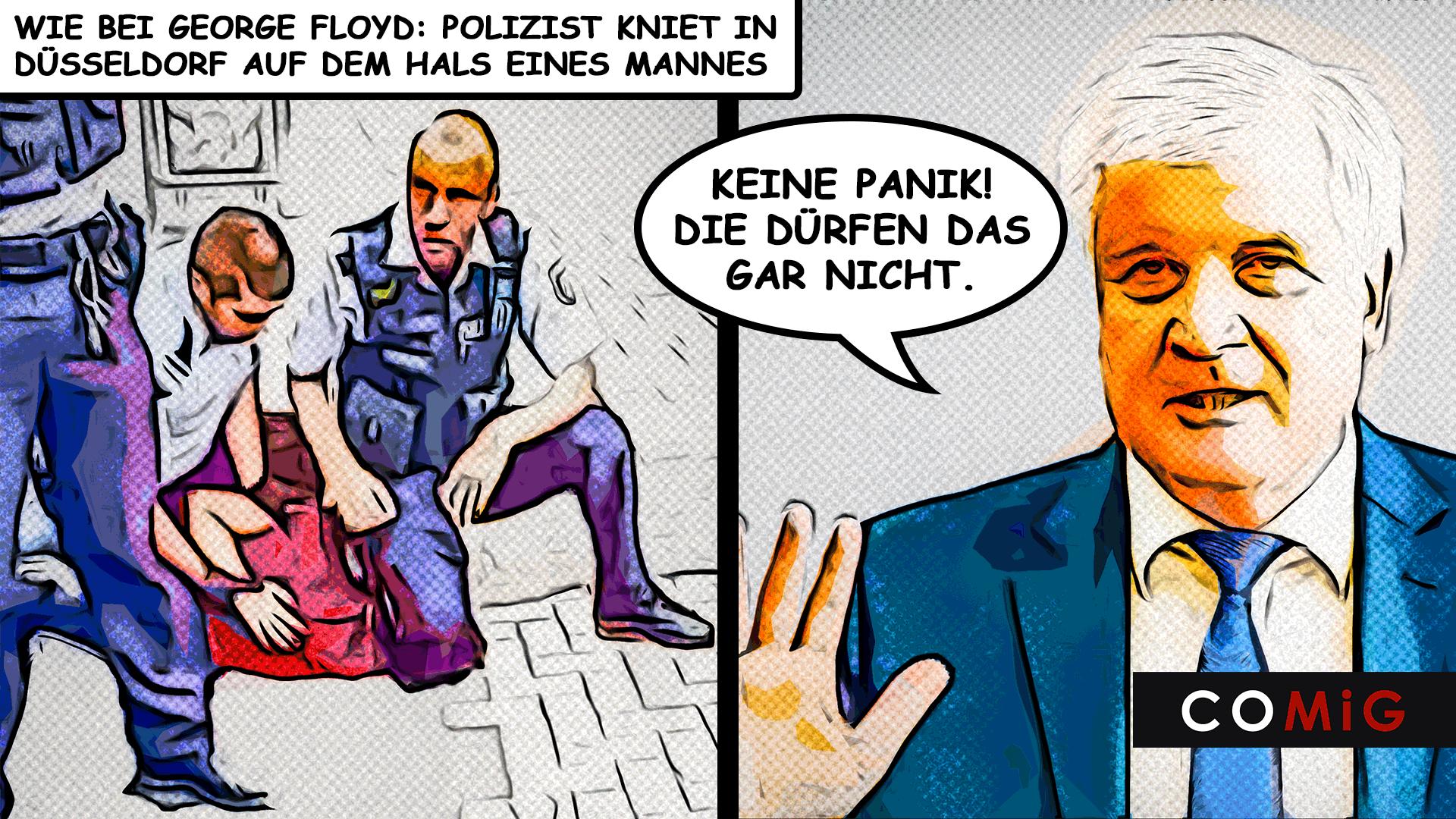 comig, Horst Seehofer, Rassismus, Studie, Racial Profiling, Polizei, Düsseldorf