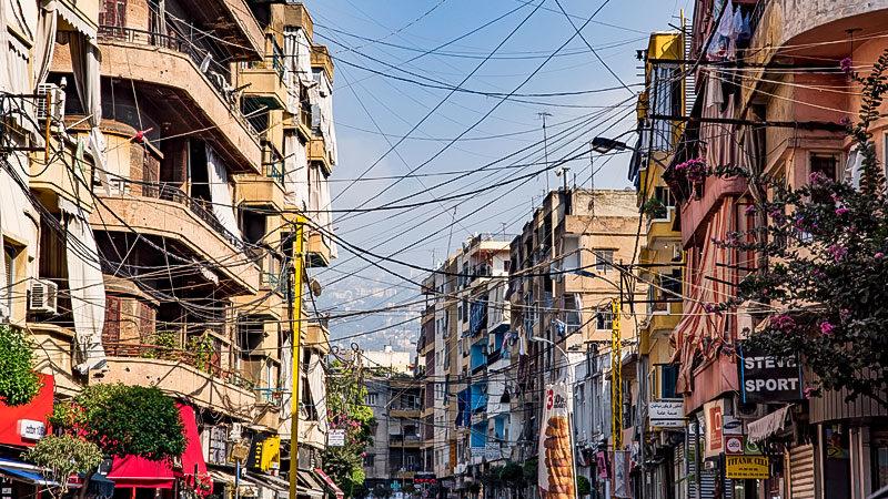 Beirut, Libanon, Stadt, Armut, Hunger, Häuser