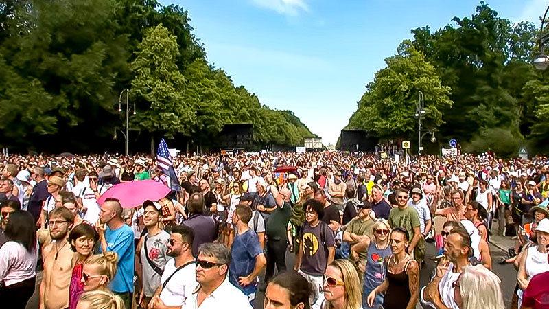 Corona, Demonstation, Berlin, Demo, Protest, Gesundheit