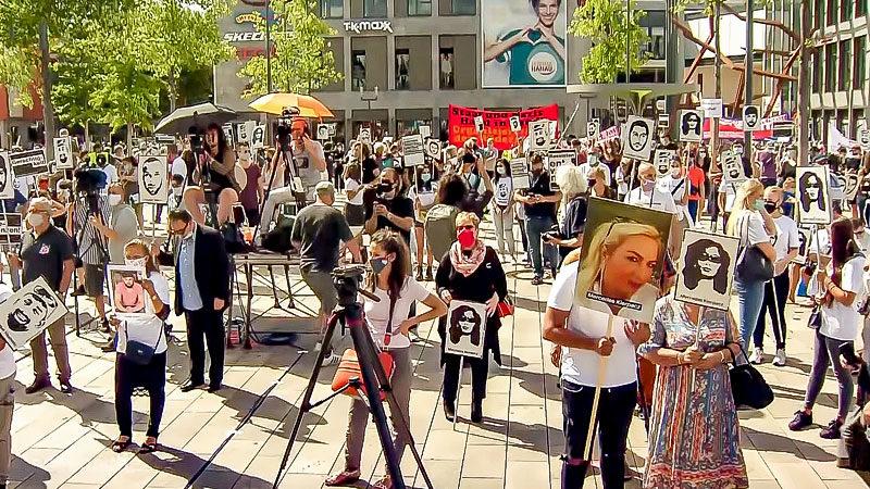 Hanau, Rassismus, Demonstration, Kundgebung, Corona
