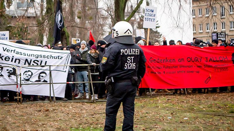 Oury Jalloh, Demo, Rassismus, Polizei, Mord, Gewahrsam