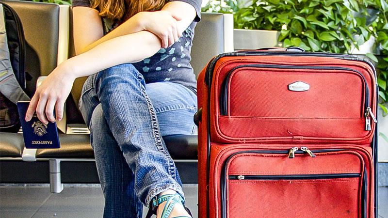Reise, Flughafen, Warten, Reisepass, Einwanderung, Auswanderung
