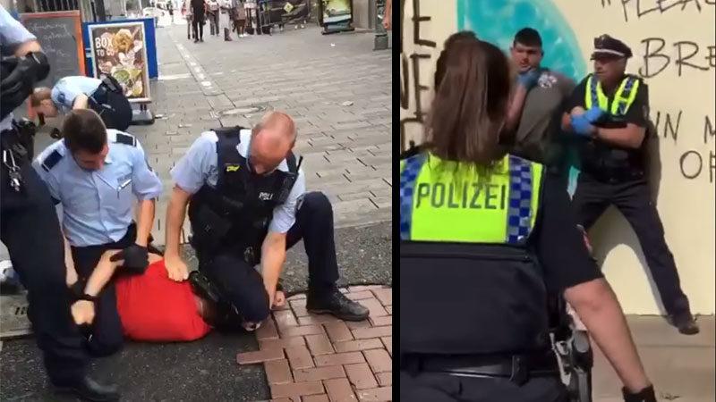 Polizei, Gewalt, Hamburg, Düsseldorf, Rassismus