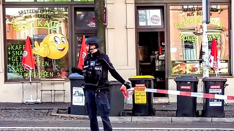 Imbiss, Polizei, Döner, Halle, Rechtsterrorismus, Rechtsextremismus