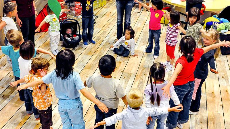 Kindergarten, Kinder, Krippe, Kita, Spielen