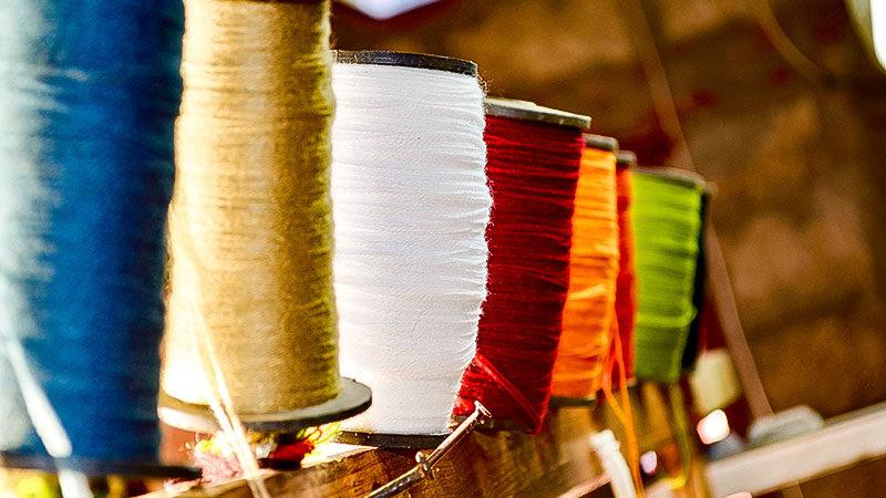 Textil, Industrie, Textilindustrie, Produktion, Stoff, Garn, Arbeit