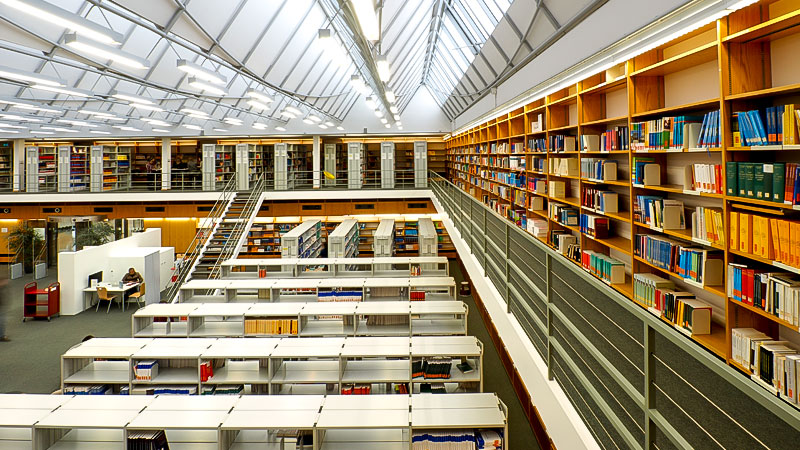 Bibliothek, Universität, Hochschule, Bücher, Bildung, Forschung