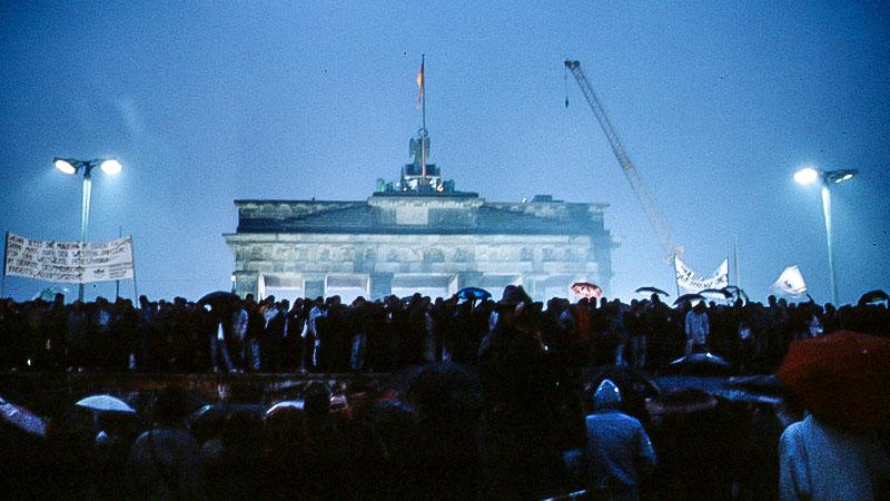Brandenburger Tor, Mauerfall, Wiedervereinigung, Geschichte, Berlin