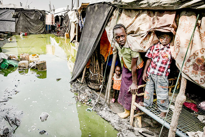 Überschwemmung, Flüchtlingscamp, Südsudan, Flüchtlinge, Wasser, Hunger, Armut, Afrika