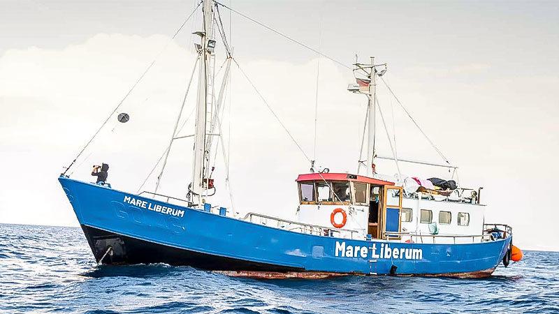 MAre Liberum, Schiff, Meer, Seenotretter, Flüchtlinge