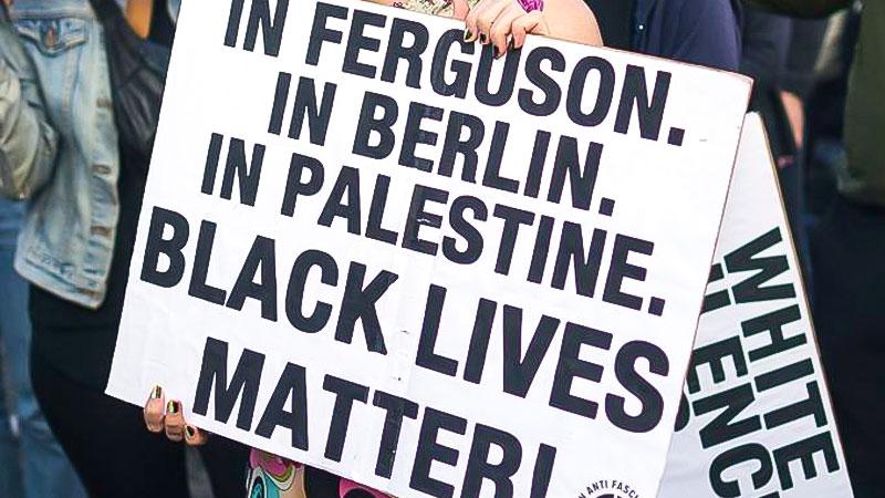 Ferguson, Berlin, Palestine, Black Lives Matter, Rassismus, Demo