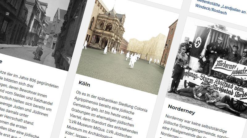 Ausstellung, Online, Internet, Jüdisches Leben, Geschichte, Nationalsozialismus