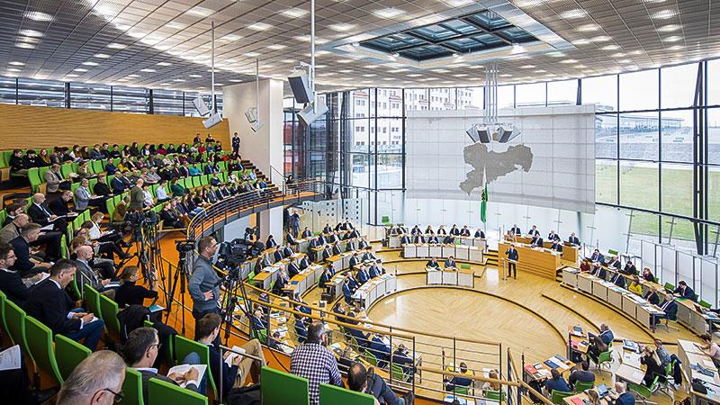 Sachsen, Landtag, Parlament, Plenarsaal, Politik, Land
