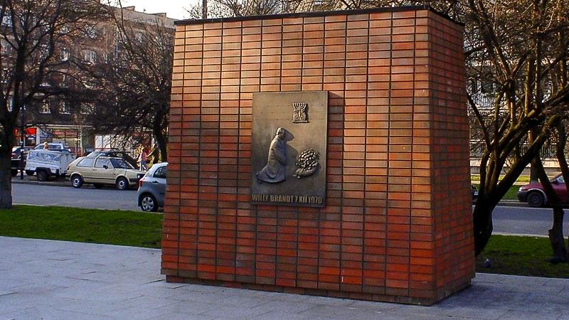 Willy Brandt, Kniefall, Warschauer Ghetto, Polen, Geschichte. Denkmal