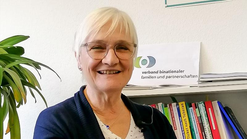 Hiltrud Stöcker-Zafari, Verband binationaler Ehen und Partnerschaften, iaf, Familiennachzug