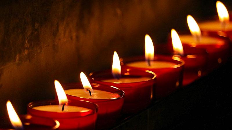 Kerze, Licht, Weihnachten, Trauer, Feier