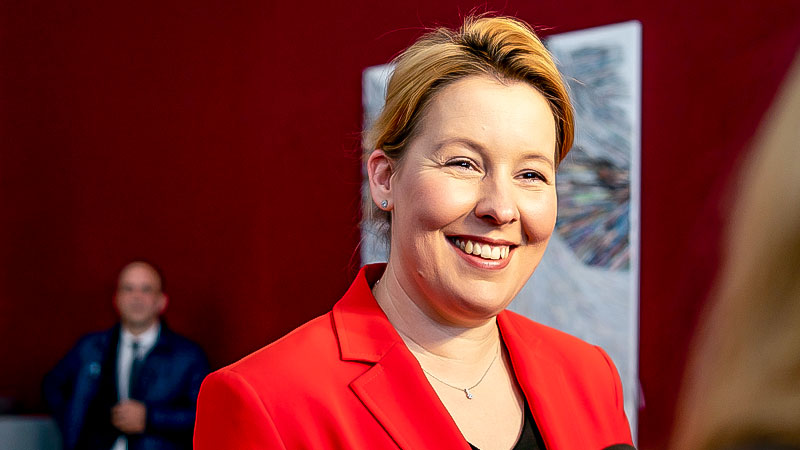Franziska Giffey, Bundesfamilienministerin, SPD, Giffey, Familienministerin
