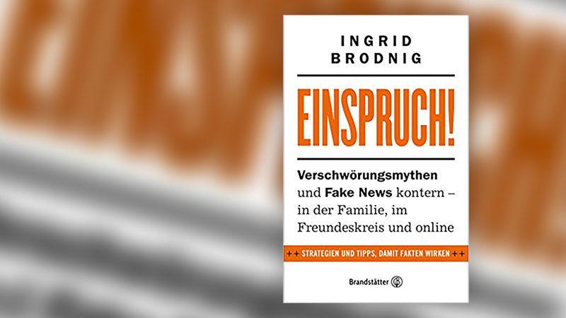 Einspruch, Buchcover, Fake-News, Verschwörung, Ingrid Brodnig