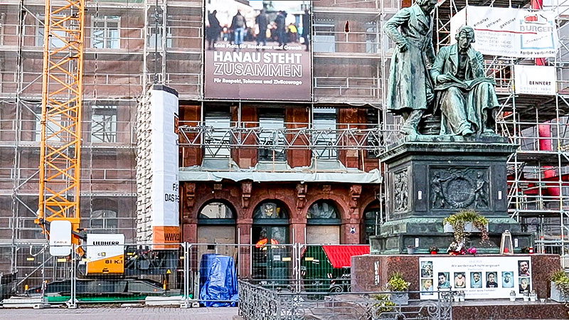 Hanau, Rassismus, Rechtsextremismus, Opfer, Gedenken