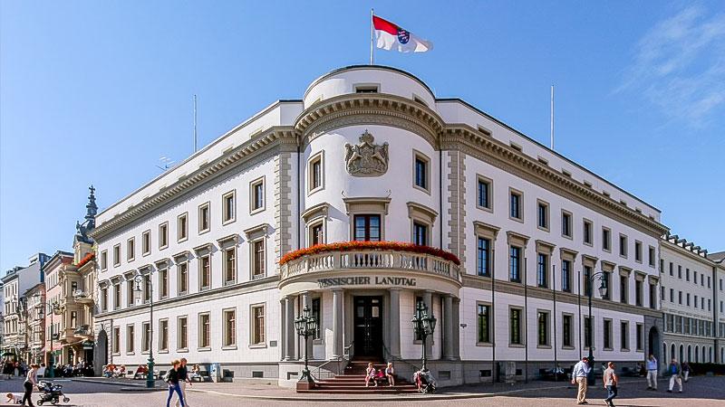 Landtag, Hessen, Hessischer Landtag, Politik, Gebäude