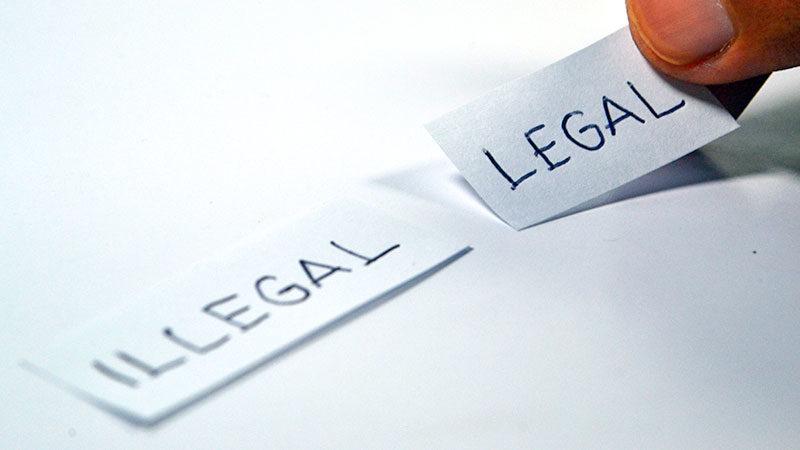 Legal, Illegal, Gesetz, Recht, Gereichtigkeit, Prozess